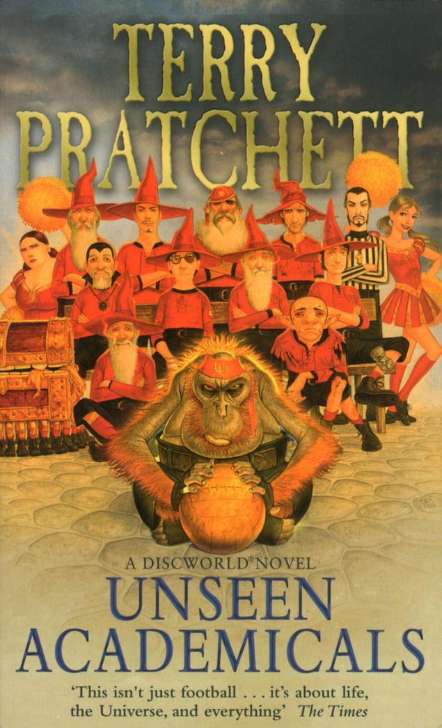 discworld terry pratchett unseen academicals review